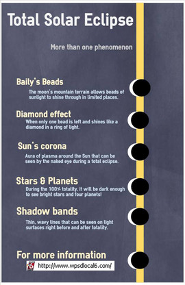 Solar Eclipse infographic