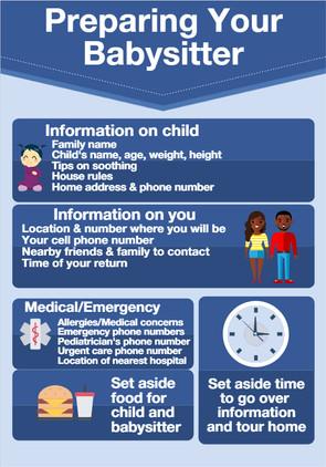 Babysitter infographic