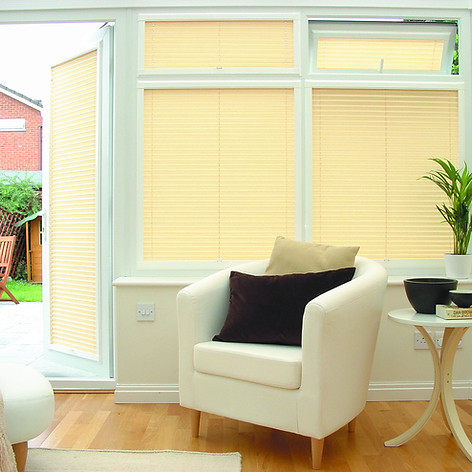 Cream venetian perfect fit blinds