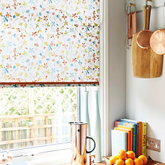 Unique patterned roller blind
