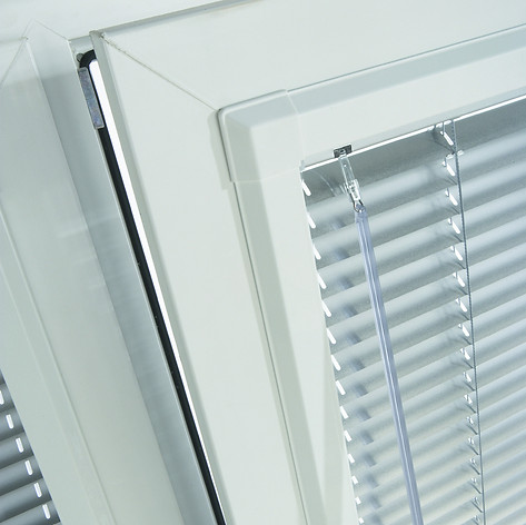 White venetian perfect fit blinds