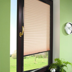 Wooden venetian perfect fit blinds