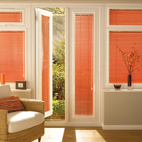 Orange perfect fit blinds