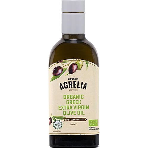AGRELIA Organic Extra Virgin Olive Oil 500ml