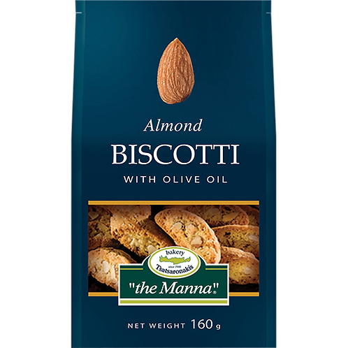TO MANNA Almond Biscotti 5.64oz