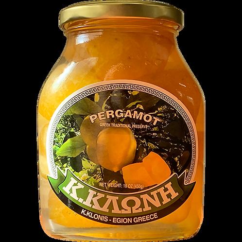 KLONIS Pergamot Preserve 16oz