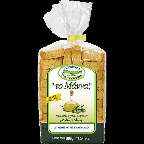 TO MANNA Cretan Olive Oil Wheat Rusks 17.63oz