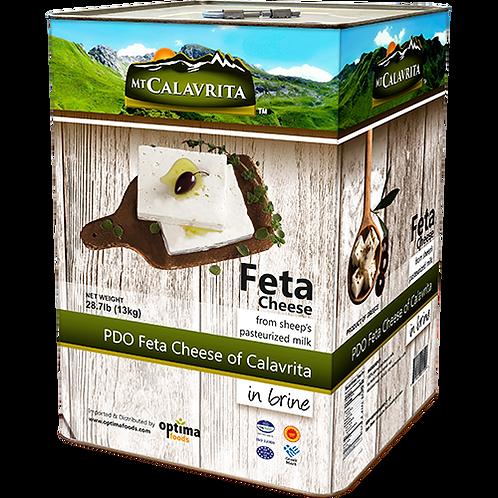 MT CALAVRITA Feta 28.7lb