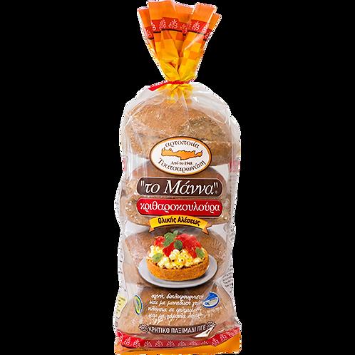 TO MANNA Cretan Barley Round Rusks 21.16oz