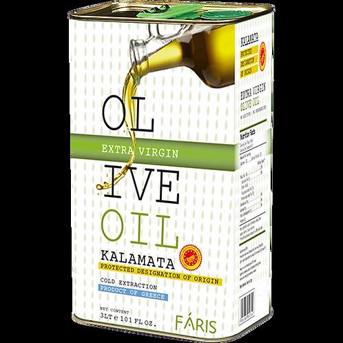 FARIS Extra Virgin Olive Oil PDO 3lt
