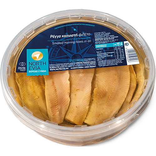 NORTH EVIA Smoked Herring Fillets 3.97lb