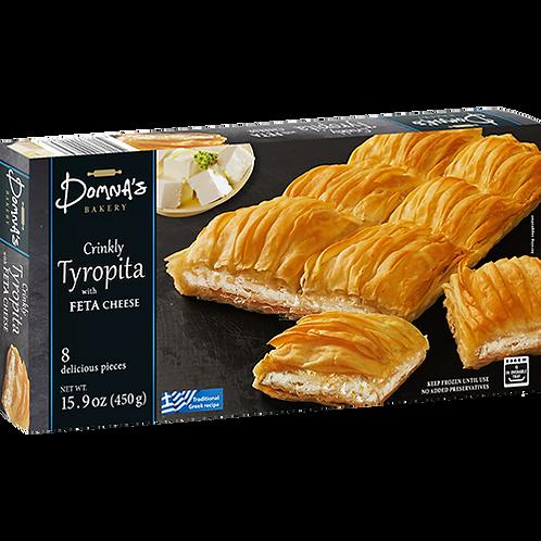 DOMNA'S BAKERY Crinkly Tyropita with Feta Cheese 15.9oz