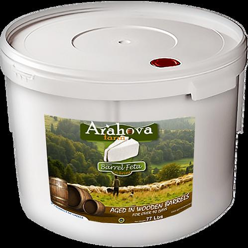 ARAHOVA FARMS Barrel Feta 77lb