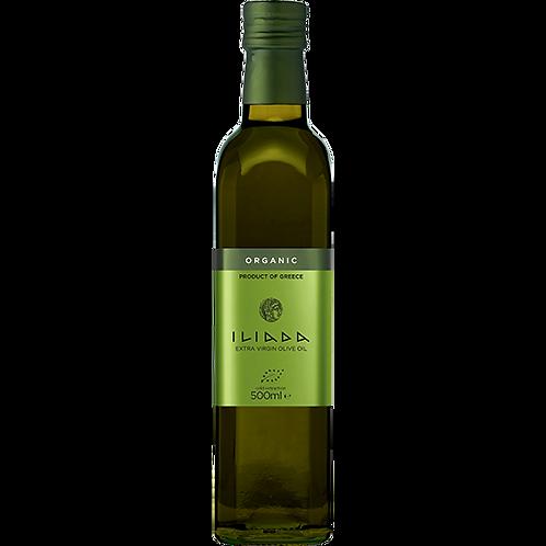 ILIADA Organic Extra Virgin Olive Oil 500ml