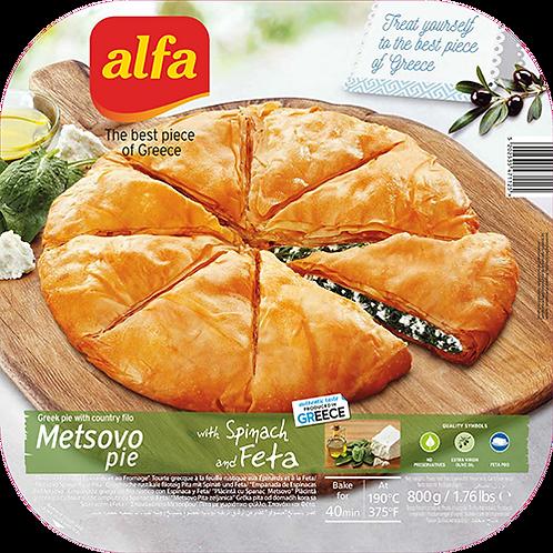 ALFA Metsovo Spinach & Feta Cheese Pie 1lb