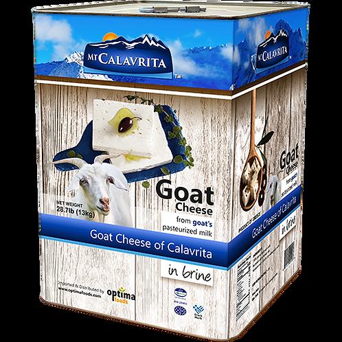 MT CALAVRITA Goat Cheese 28.7lb