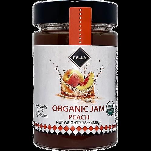PELLA Organic Peach Jam 7.76oz