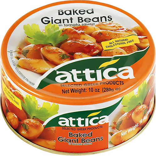 ATTICA Baked Giant Beans 10oz