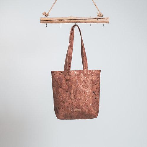 Shopper Kork Partikel bronze