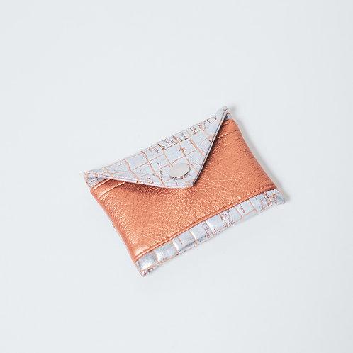 Mini Geldbörse Kork Kaiman - bronze