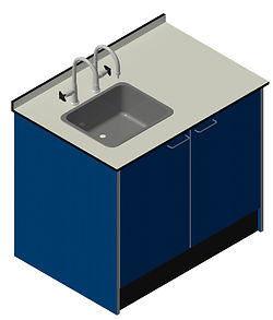 Drop In Sink with Cupboard Unit Visual.j