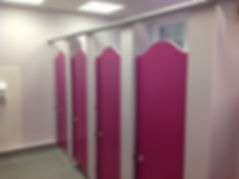 Cubicles for Washrooms