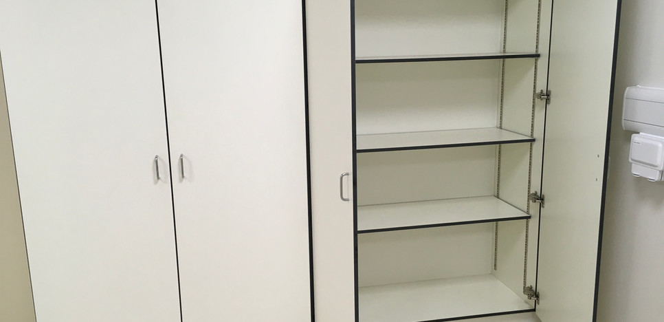 Tall Double cupboard