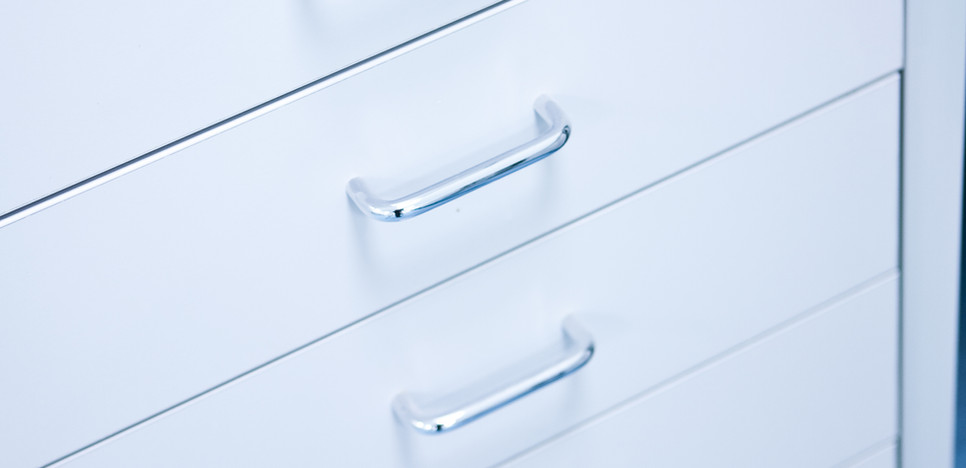 single drawer units