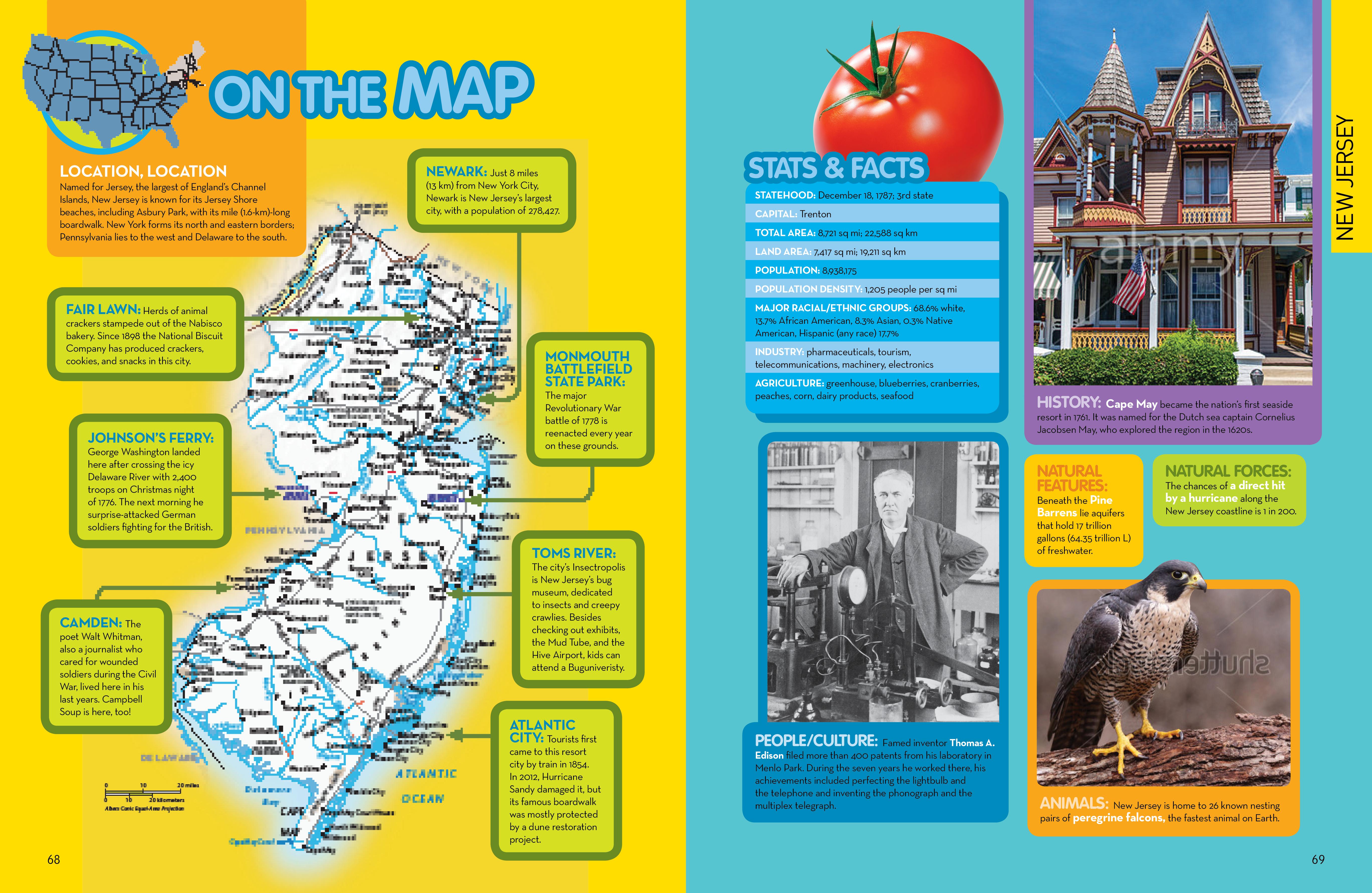 U.S. Encyclopedia State Map
