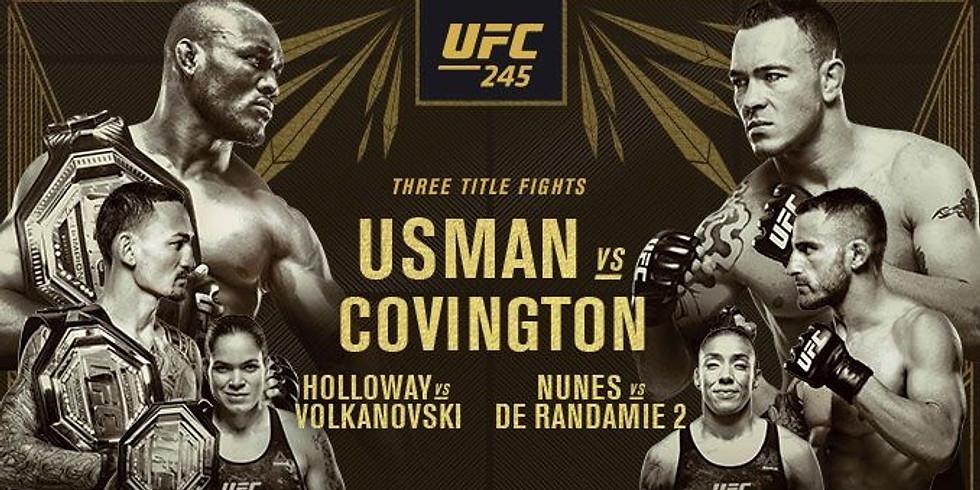 UFC 245: Triple World Title