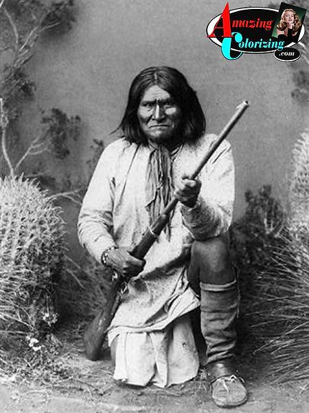Amazing_Colorizing_Geronimo_Wild_West_BW