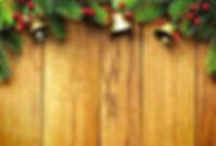 Christmas Bells & Wood Panelling - Websi