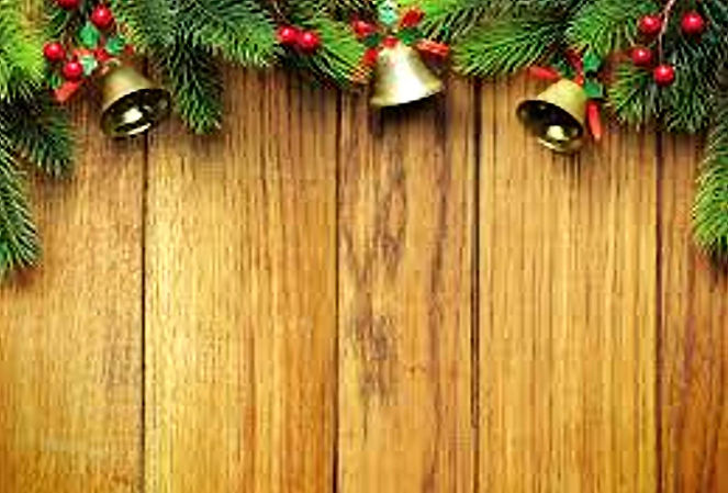 Christmas Bells & Wood Panelling - Websi