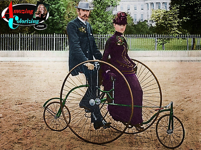 Amazing_Colorizing_Bicycle_Built_For_Two