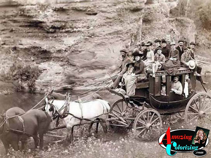 Amazing_Colorizing_Tallyho_Stage_Coach_S