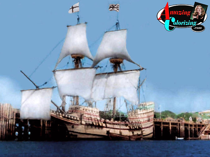 Amazing_Colorizing_Mayflower_Plymouth_MA
