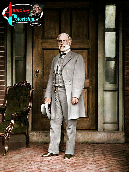 Amazing_Colorizing_Robert_E_Lee_on_Porch