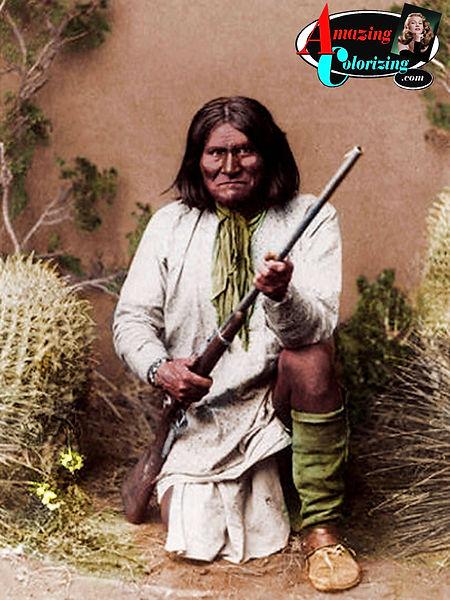 Amazing_Colorizing_Geronimo_Wild_West_CO