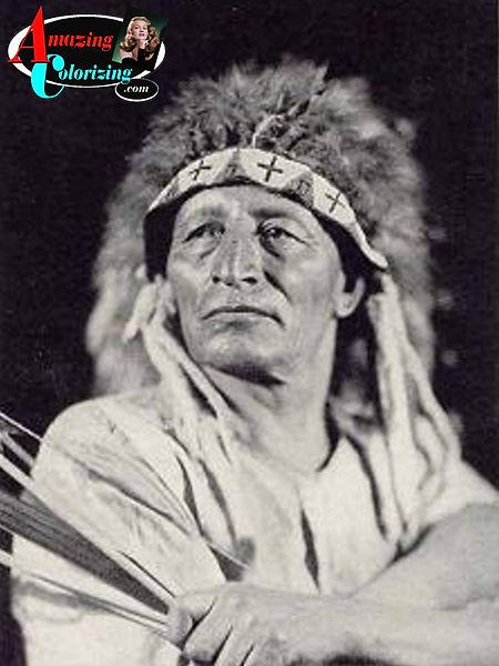 Amazing_Colorizing_Native_American_India