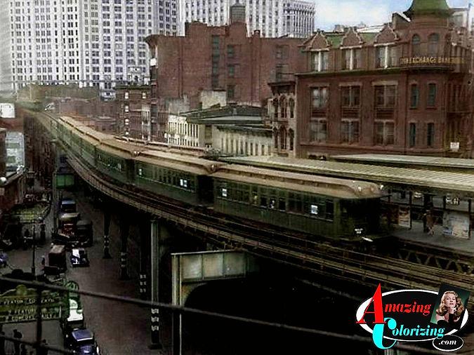 Amazing_Colorizing_El_Train_New_York_Cit