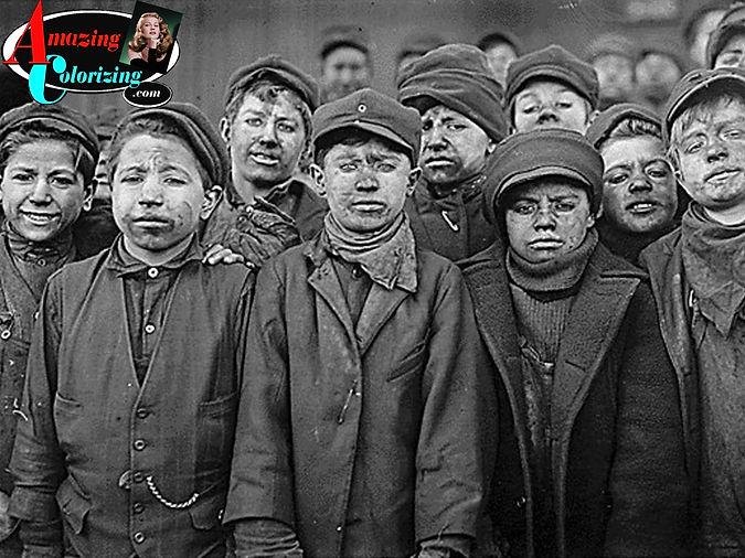 Amazing_Colorizing_Child LaborYoung_Mine