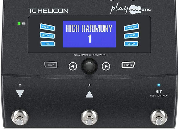 TC Helicon Play Vocal/Guitar Effect Processor