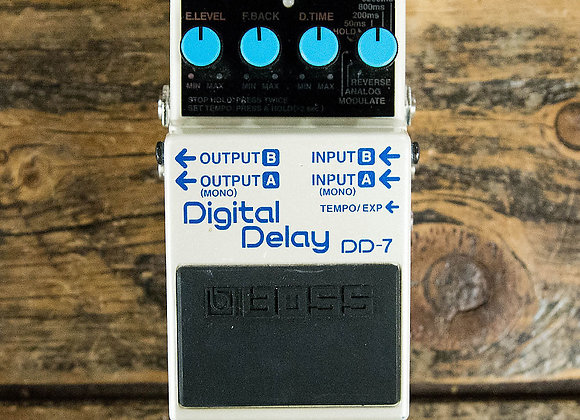 Digital Delay DD-7 Pedal