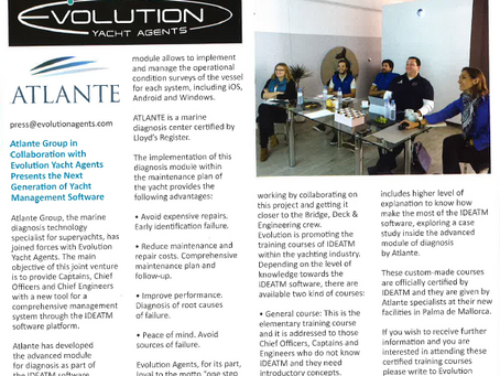 Atlante Group in collaboration with Evolution Yacht Agents presents the next generation of Yacht Man