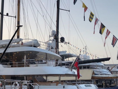 ATLANTE AT THE MYBA CHARTER SHOW - BARCELONA