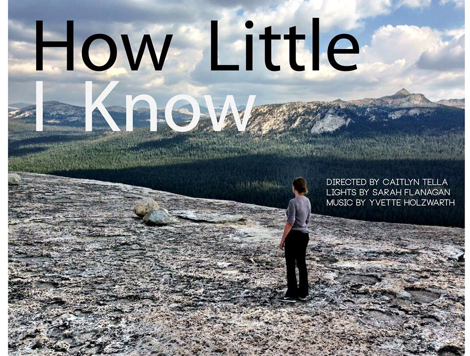 How Little I know poster
