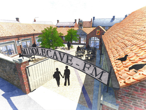 Middlecave Yard: More Artisan Food Production Units for Malton