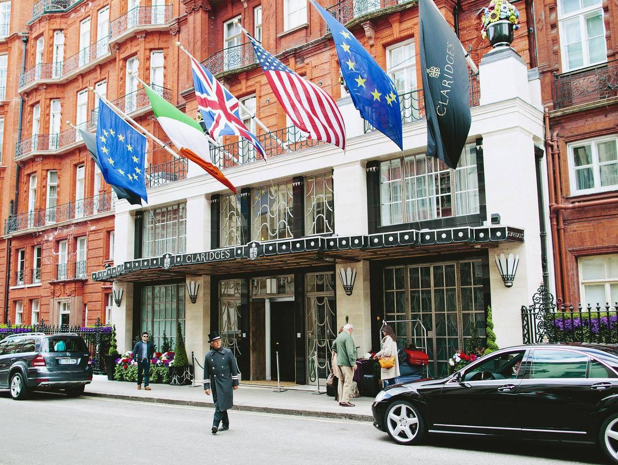 Claridges, Mayfair, London