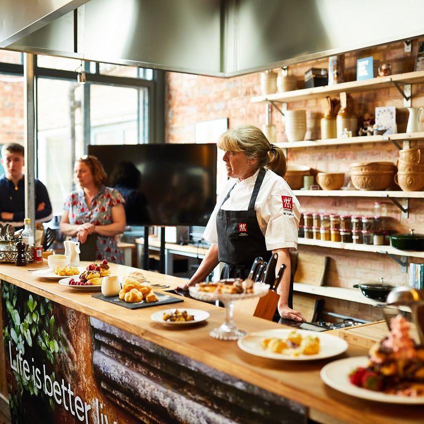 Malton Cookery School - Chef Demo
