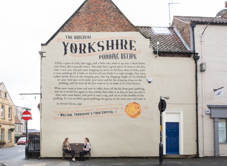 Yorkshire's Food Capital Celebrates Yorkshire Day with Giant Homage Dedicated to the iconic York
